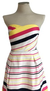 Lilly Pulitzer short dress White Pink Yellow on Tradesy