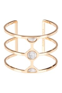 Vince Camuto Vince Camuto Milky Resin Cutout Cuff Rose