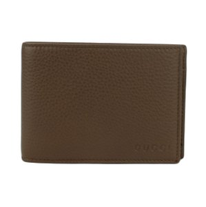 Gucci GUCCI 292534 Men's Leather Bifold Wallet