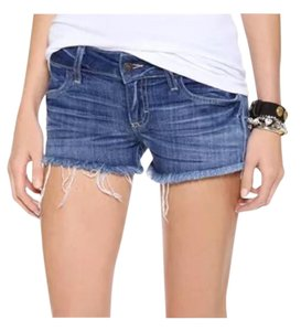 Siwy Denim Shorts-Dark Rinse