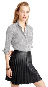 J.Crew Button Down Shirt Black, White