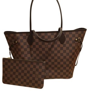 Louis Vuitton Tote in Brown/Red