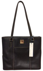 Dooney & Bourke Leather Tote in Black