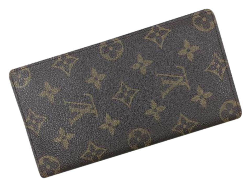 c6c71de3fc44 Louis Vuitton Checkbook Cover Wallet - Tradesy