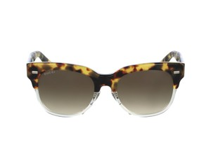 Gucci NEW Gucci 3744 Sunglasses Spotted Brown Black Wayfarer Sunglasses