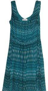 Calvin Klein short dress green multi on Tradesy