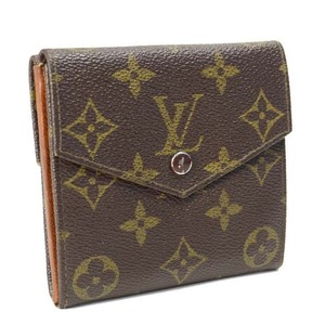 Louis Vuitton [Authentic] LOUIS VUITTON Monogram Porte Monnaie Billet Wallet