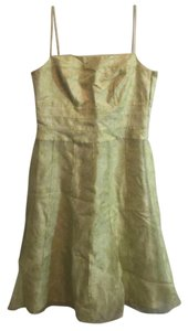 Ann Taylor short dress Green And White on Tradesy