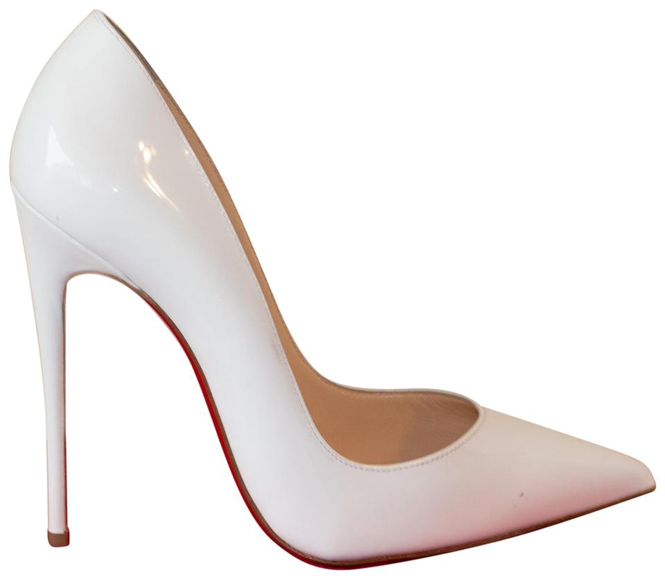 sports shoes fb283 a5ef7 Christian Louboutin White So Kate Patent Leather Pumps Size EU 37 (Approx.  US 7) Regular (M, B) 19% off retail