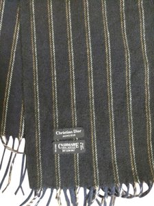 Dior Pre-Owned Christian Dior Monsieur Cashmaire Scarf