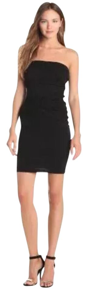 Night Spencer Black by Mini Out Dress Graham Strapless Velvet amp; IxO0f