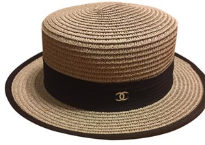 Chanel hat. Chanel straw hat