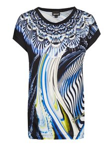 Just Cavalli Sale T Shirt black blue