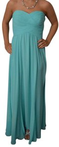 Ralph Lauren Off The Long Gown Light Ruched Bodice Prom Dress