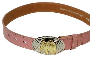 Nocona Nocona Genuine Leather Children Pink Belt