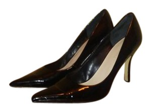 Nine West Barbe Heels Patent Leather Black Pumps