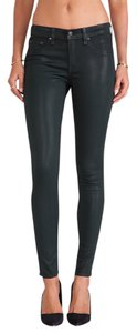 Rag & Bone Plush Twill Leggings Skinny Skinny Jeans-Coated