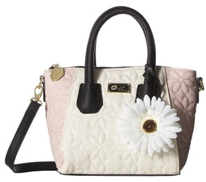 Betsey Johnson Floral Handbag Satchel in Multicolor