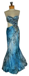 Cassandra Stone Prom Beaded Strapless Dress
