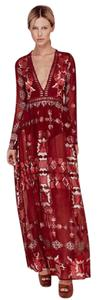 Cranberry Maxi Dress by For Love & Lemons