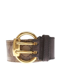 Gucci Gucci Brown GG Belt