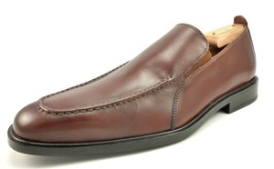 Cole Haan Men's Leather Apron Toe Slip On Loafer Shoes