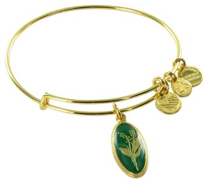 Alex and Ani 14EB93YG Purity of the Heart Lily of the Valley Expandable Bracelet