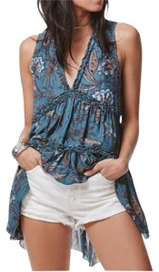Free People Boho Empire Waist Tunic