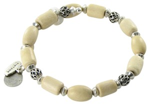 Alex and Ani VW499RS Woodland Hush Blonde Wood Wrap Expandable Bracelet