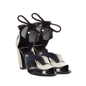 Pierre Hardy Trico Natural Sandals