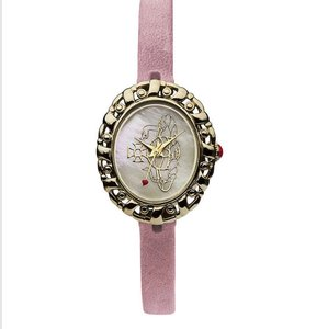 Vivienne Westwood Women's Gold & Pink Leather Watch