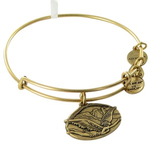 Alex and Ani A14EB88RG Guardian of Freedom Expandable EWB Bracelet Russian Gold