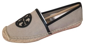 Tory Burch natural balck Flats