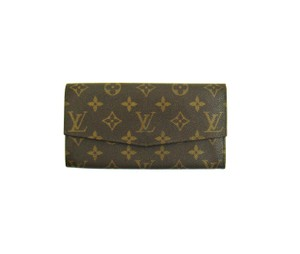 Louis Vuitton Vintage Sarah Monogram Canvas Leather Clutch Wallet France