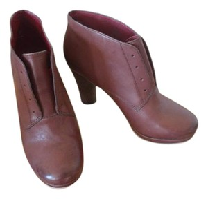 Lucky Brand Spring Fall Leather Cognac Boots