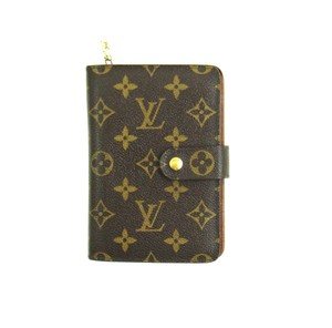 Louis Vuitton Porte Papier Zippy Monogram Zip Clutch Organizer Wallet w/ Insert