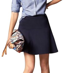 Banana Republic Mini Skirt Navy