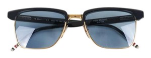 Thom Browne Unisex Black Plastic Sunglasses