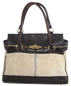 Max Mara Canvas Margaux Summer Large Tote in Tan