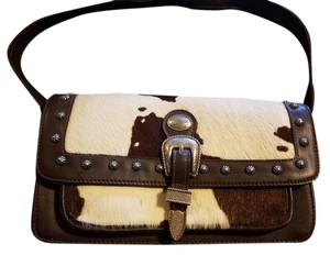 American West Leather Western Shoulder Bag