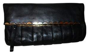Gianni Bini Leather black Clutch