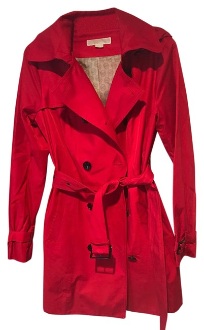 Item - Red Hooded Coat Size 8 (M)