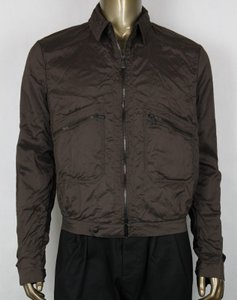 Bottega Veneta Brown Men's Silk Jacket 48 307871 2515 Groomsman Gift