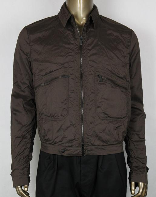 Item - Brown Men's Silk Jacket 48 307871 2515 Groomsman Gift