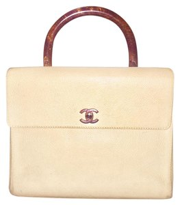 Chanel Vintage Tote in Beige