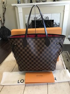 Louis Vuitton Neverfull Damier Totes Handbags Wallets Shoulder Bag