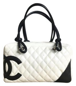 Chanel Leather Cambon Shoulder Bag