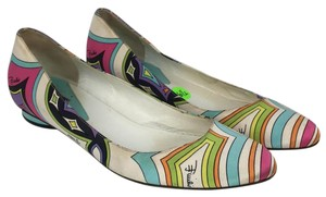 Emilio Pucci Multi-Colored Flats