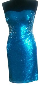 Jump Apparel Open Back Low Back Sequin Sweetheart Homecoming Dress