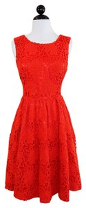 Kate Spade Lace Cocktail Evening Fit & Flare Dress
